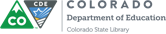 Colorado State Library logo