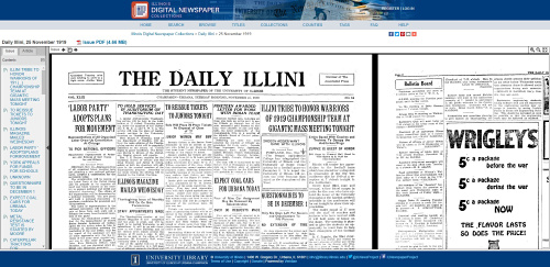 Illinois Digital Newspaper Collection