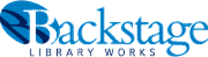 Backstage Library Works logo and website link