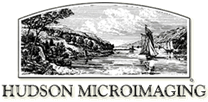 Hudson Microimaging logo and website link