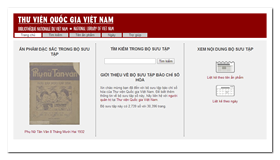 National Library of Vietnam - Newspapers