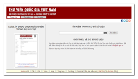 National Library of Vietnam - PHD Theses