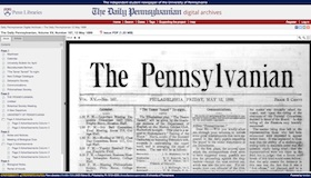 The Daily Pennsylvanian Digital Archives