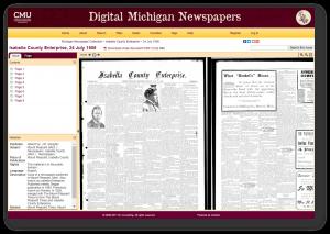 Digital Michigan Newspaper Portal